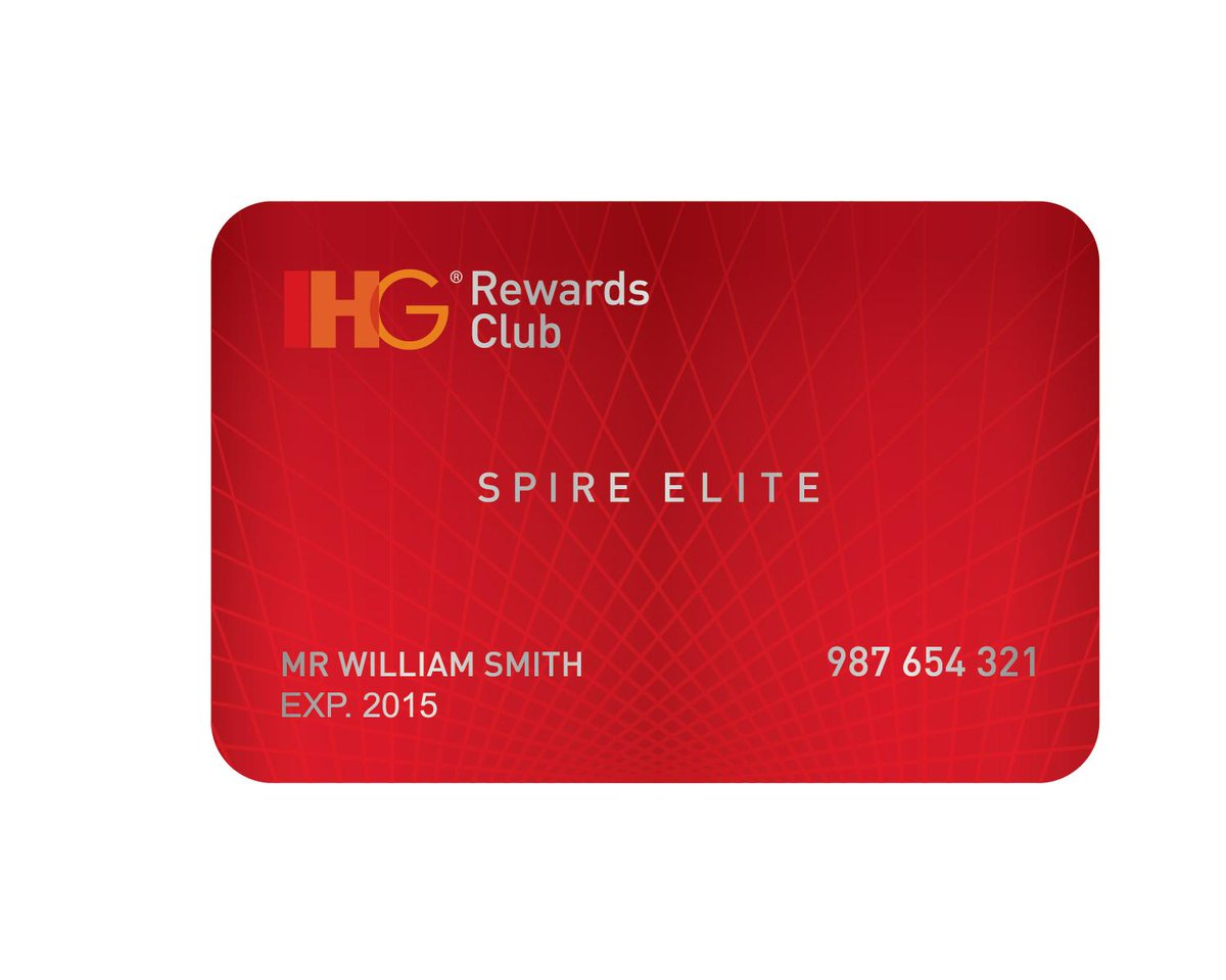 IHG Rewards Club is celebrating the launch of our new top membership level, Spire Elite: http://t.co/Kzs7KqtPcw http://t.co/MpY16Lke5j