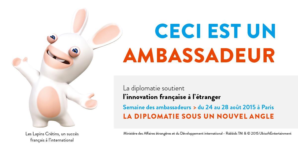 Ceci Nest Pas Un Lapin >> France Diplomatie On Twitter Ceci N Est Pas Un Lapin Http T