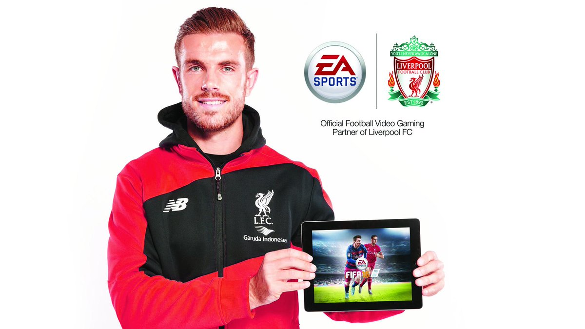 It's official! Our new Captain is also the #FIFA16UKcover star, congratulations @JHenderson! #FIFA16 #YNWA