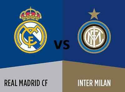 INTER-Real Madrid Streaming Diretta Calcio, tutte le info per vedere la partita