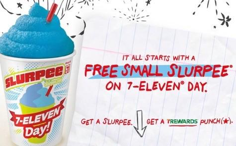 7-Eleven's free slurpee day is tomorrow (on 7-11, duh!) :: http://t.co/U3JhcxmLIm http://t.co/6Sw7hGtX02