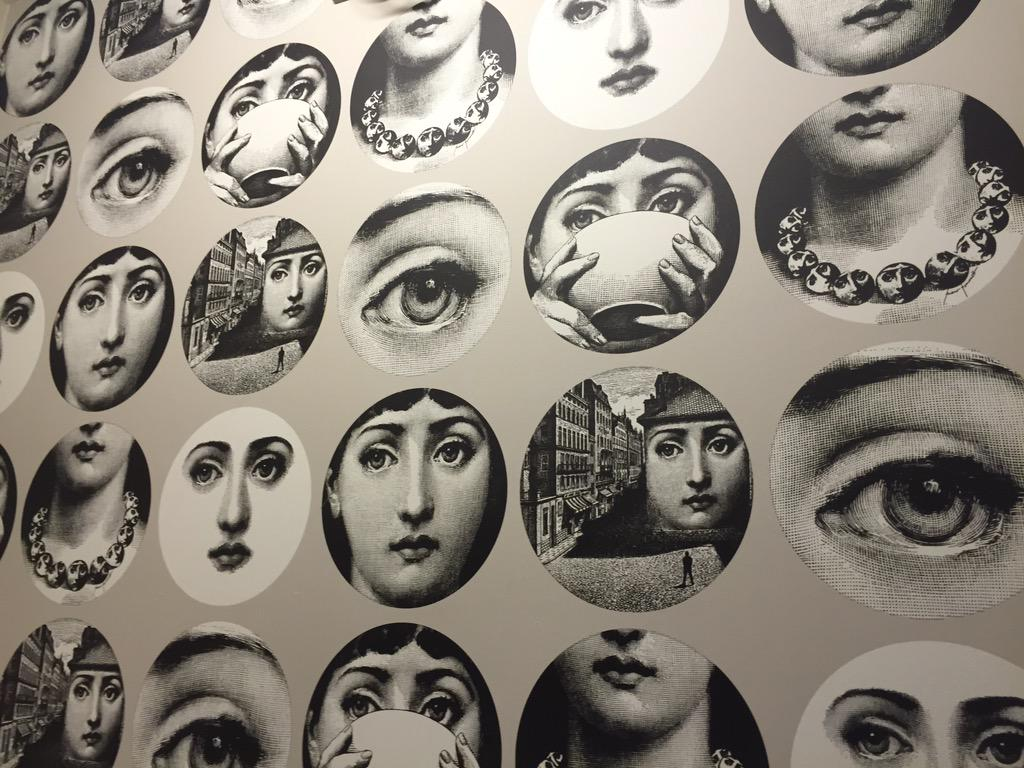 Daniela Tirone On Twitter Obsessed With The Fornasetti Wallpaper In My Room At Cosmopolitan LV Tco MUgIhLYBiG