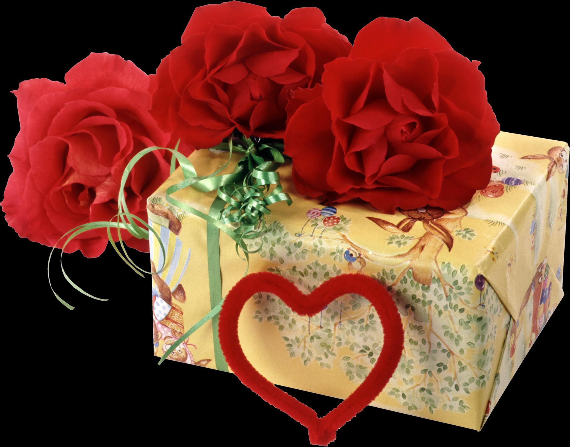 Живые картинки подарки, красивые