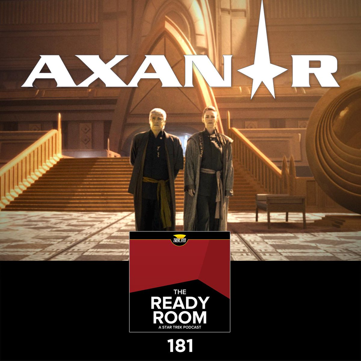 New Ready Room! @AlecPeters @BurnettRM + @normanlao join me to talk @StarTrekAxanar #podcast http://t.co/X42bDbMtH7 http://t.co/jjDYlKTdQP