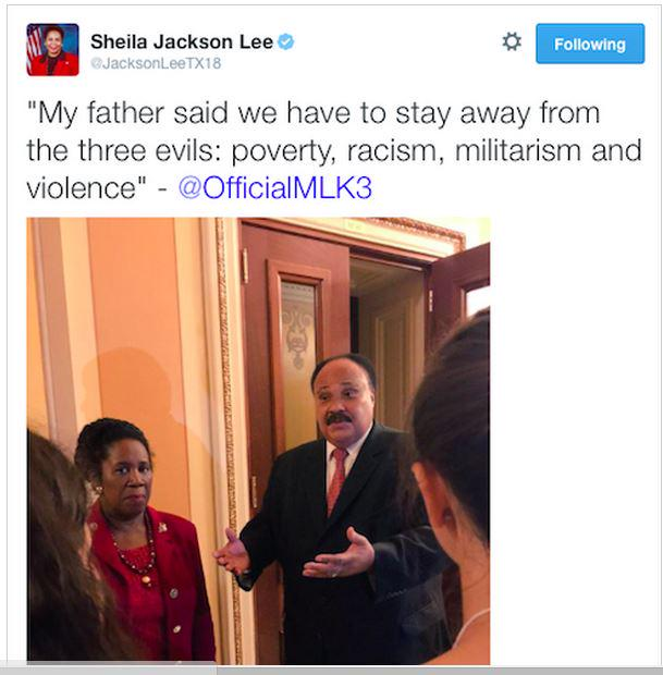 Sheila Jackson-Lee can't count