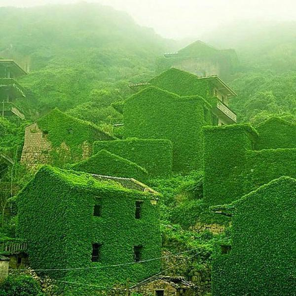 """That's Earth On Twitter: """"Abandoned Fishing Village, Gouqi"""