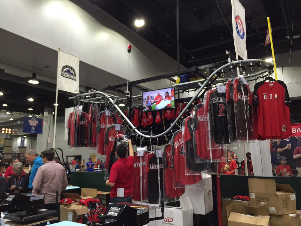 Need a #VoteCueto jersey on this rack @fanfest http://t.co/SKS53TMYQp