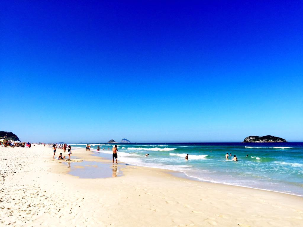 Nothing beats Rio's beaches :-) #praiadopepe pic.twitter.com/HczNjPFN8S