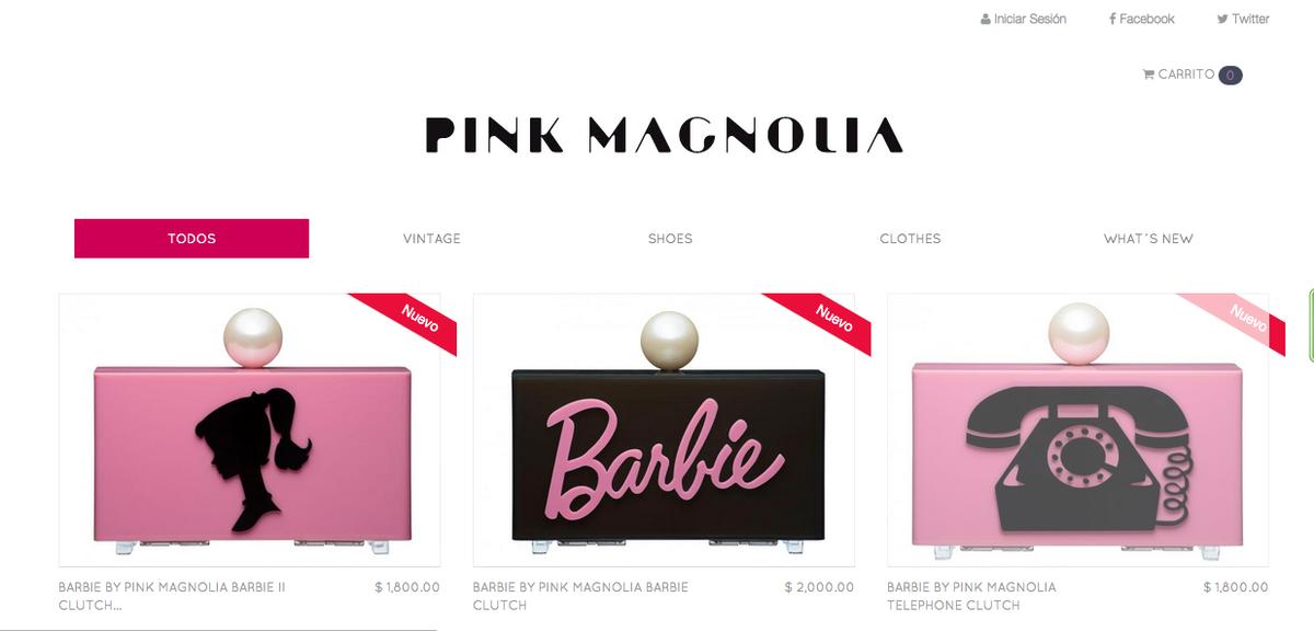Este fin de semana hasta el domingo 12 de Julio, TODA LA COLECCIÓN #BarbiebyPINKMAGNOLIA con 20% el envío GRATIS!!! http://t.co/kMqBa9GOIT