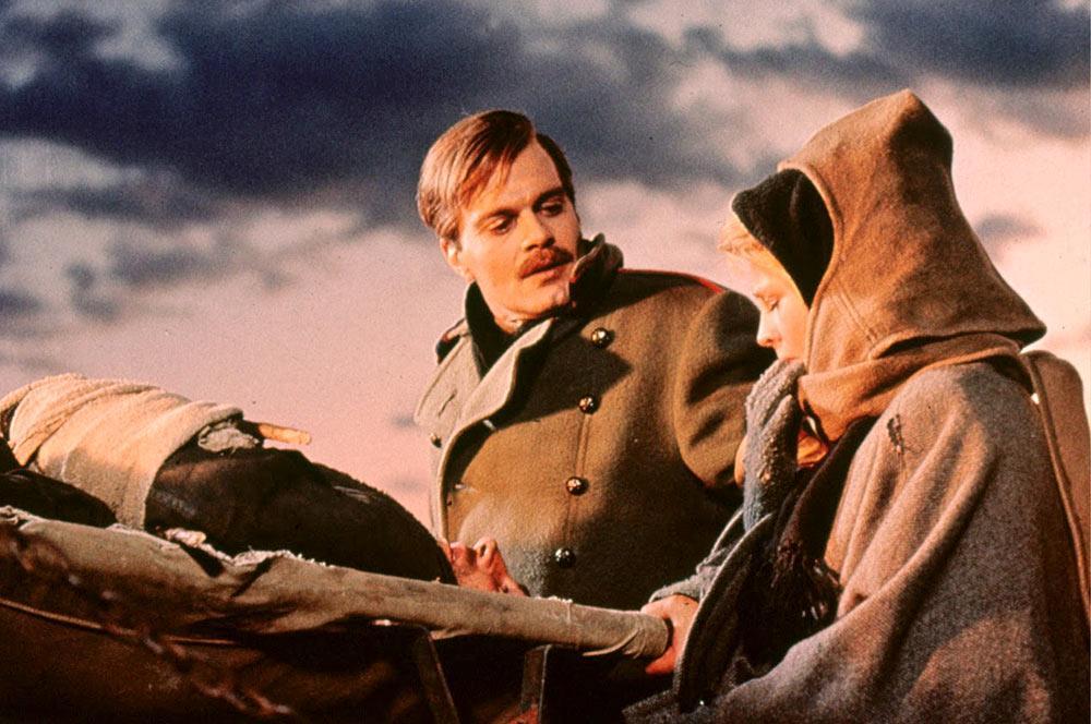 'Doctor Zhivago', la célebre película que consagró a Omar Sharif, el fallecido actor egipcio