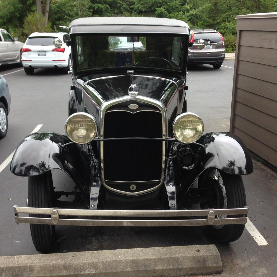 Arthur Davidson On Twitter My 1999 Honda Accord Is Usually The Oldest Car In Club Parking Lot But Not Today Check Out This 1931 Ford