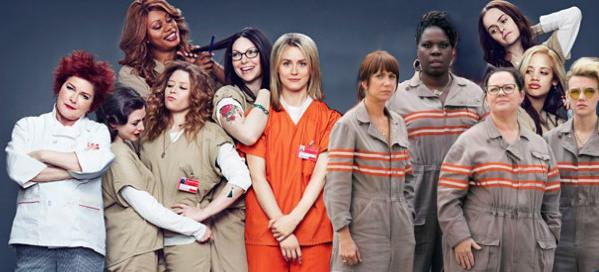 New Ghostbusters costumes look awfully familiar. #whoyougonnacall #OITNB http://t.co/tdABm2kel9