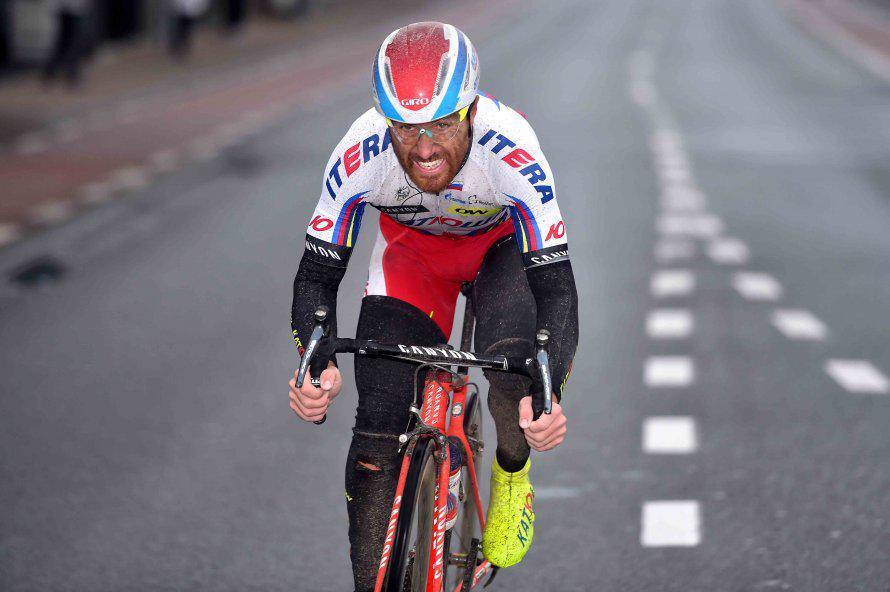 Tour de France, Luca Paolini (Team Katusha) non partira' oggi