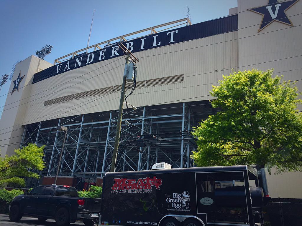 @MeatChurch something smells good over there. #KickTheDustUp #Vanderbilt