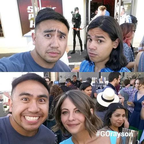 #CW worlds collide at the #buzzfeed #SDCC2015 rooftop party!... http://t.co/8bmkrAjQG6 http://t.co/X7JApUWzPk