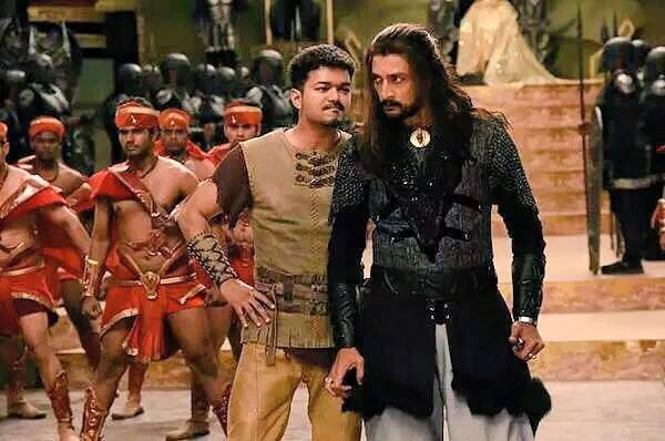 Vijay and Sudeep Confrontation is going to be a major Highlight.