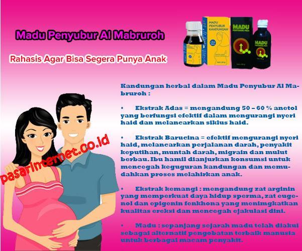 Cara alami menyuburkan kandungan/rahim agar supaya cepat hamil Madu penyubur Kandungan