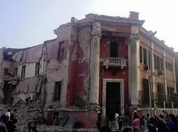 FOTO VIDEO Consolato Italiano a Il Cairo Egitto