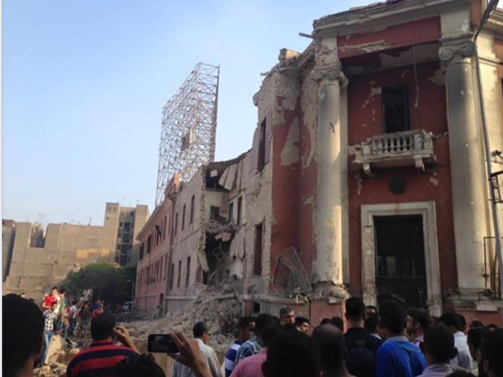 Viaggiare Sicuri Egitto: esplosione nella zona Consolato Italiano a Il Cairo