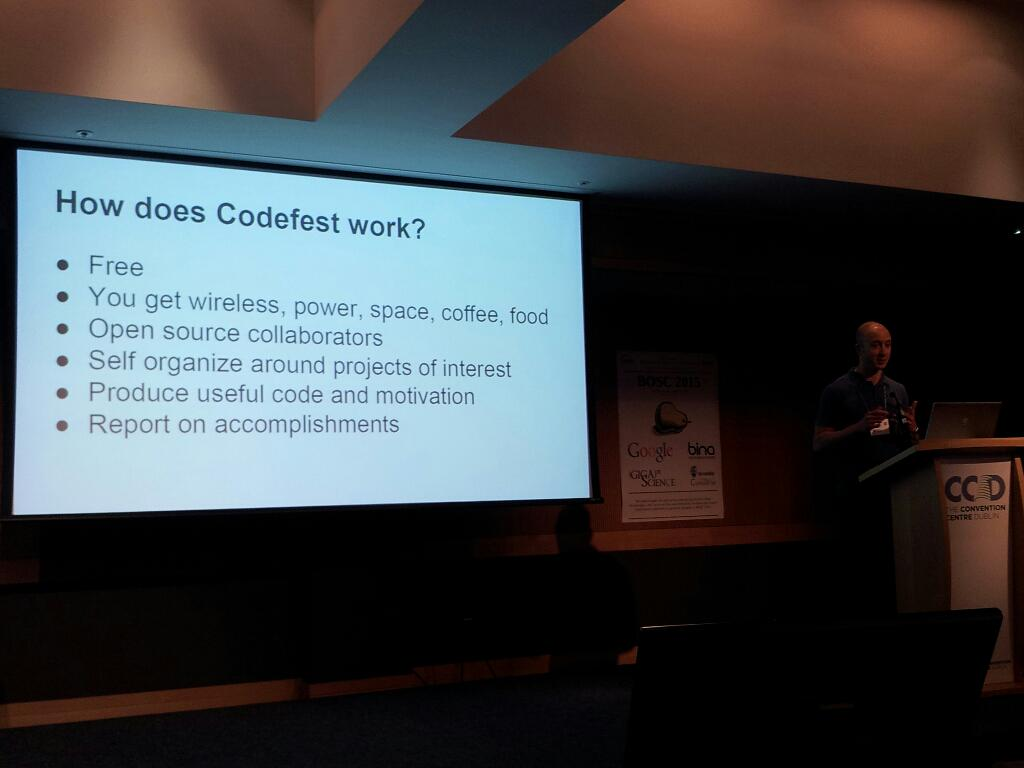 Codefest report by @chapmanb #BOSC2015 http://t.co/IFtF6cGYtr
