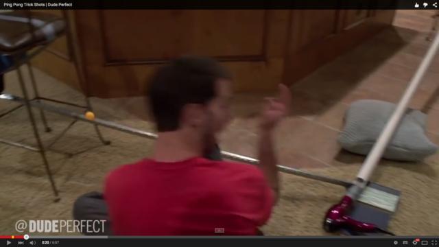 《嘘だろ!?》Ping Pong Trick Shots | Dude Perfect《動画》  http://t.co/d64EqPEFul  http://t.co/JiNoDeHyxw