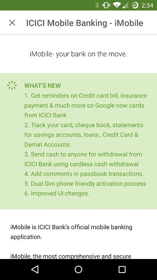 Woah! ICICI Bank is on a roll! Integration with Google now! http://t.co/HbyRB0kaAA
