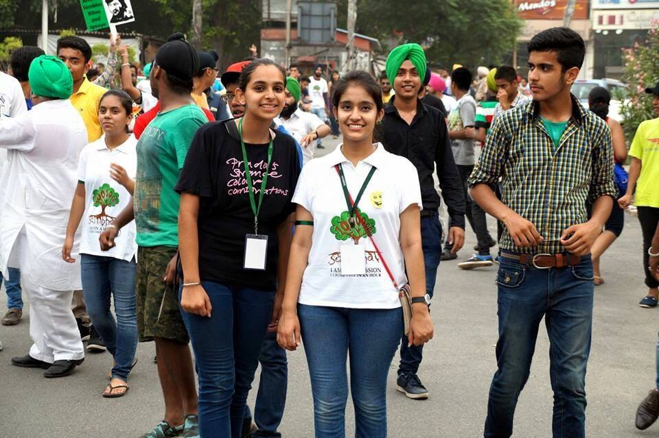 We did not care - but these guys do - to make earth a better place - #1CroreTreesIn1Hour July 19 all over Punjab http://t.co/YAh5xFzgDw