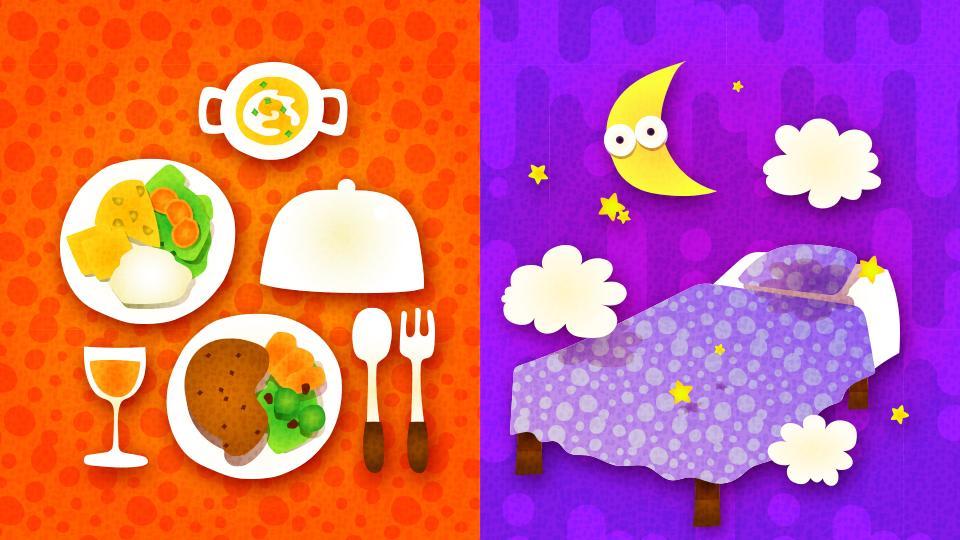 [欧州] 第2回 「食べる vs 寝る」