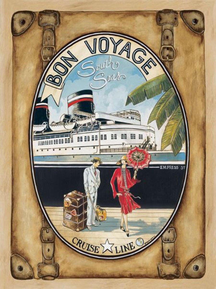 Смешные, открытки ретро путешествия