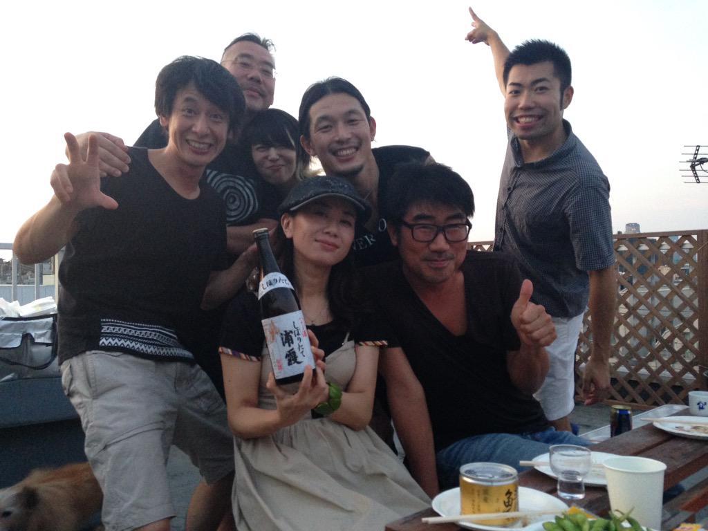 《拡散希望》良い子のみんな、7/13(Mon)ブルーノート東京で待ってるよー! http://t.co/LGDiHqBA96 @seiji_kameda @BlueNoteTokyo #jwave #radiko 日本酒万歳! http://t.co/EhCuvFnQ0g