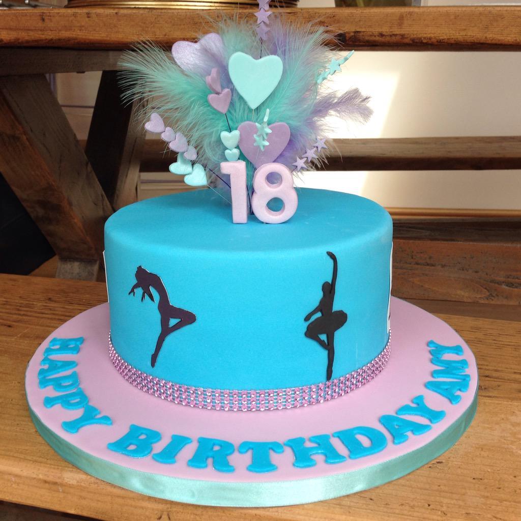 Helen Fisher On Twitter 18th Birthday Cake For Dance New York