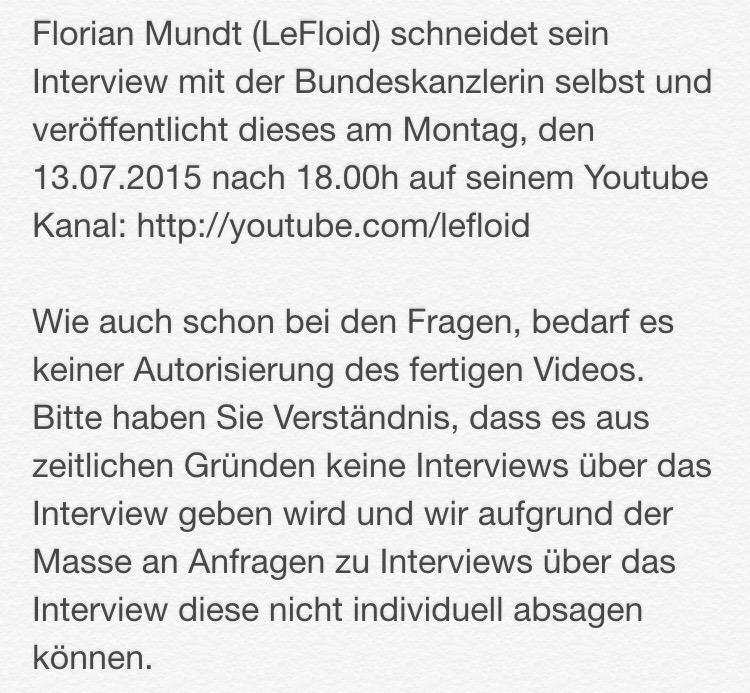 LeFloid schneidet Video selbst
