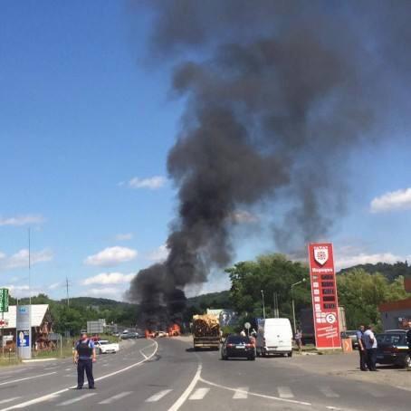Подробности о нападении «Правого сектора» на город Мукачево