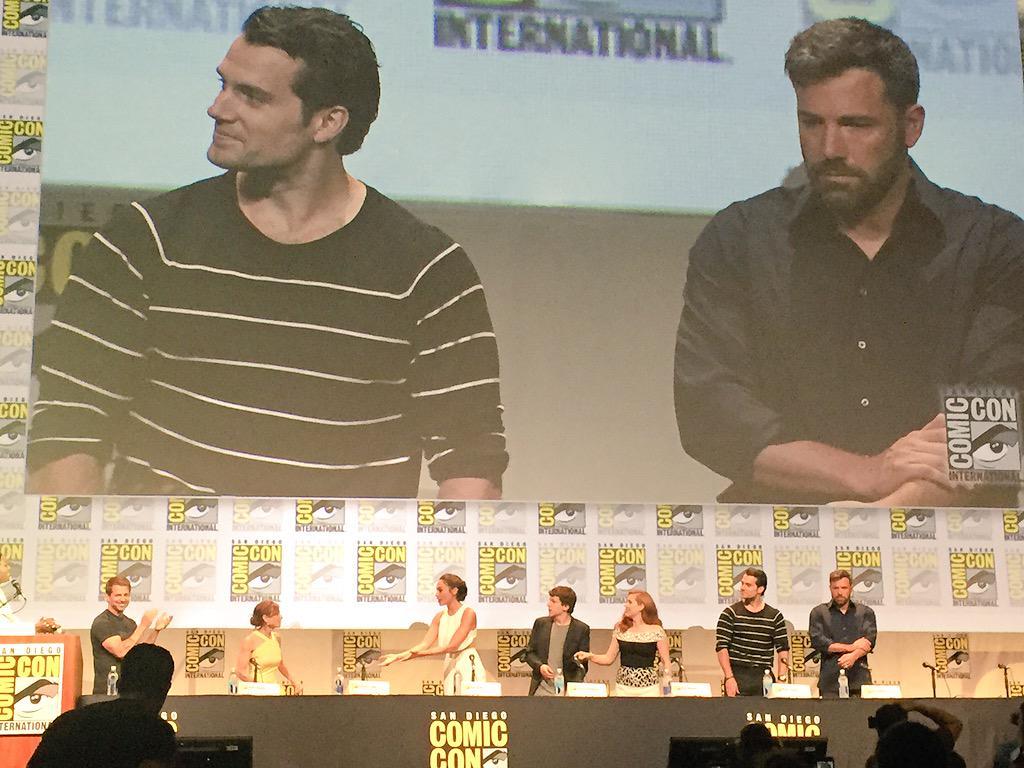 Batman v Superman trailer: Dawn of Justice teaser debuts at Comic Con