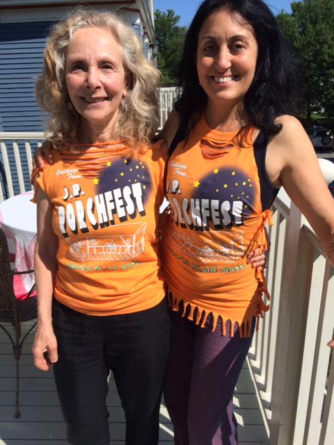 #jpporchfest rockin' the t-shirts! For sale @ Porchfest Central/1st Baptist Church. @02130News @BostonMagazine http://t.co/yhaz9a7yHD