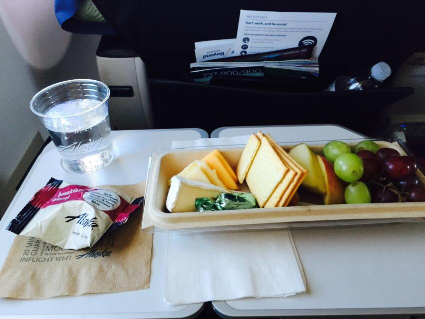 Alaska Airlines on Twitter \ @Traumanator That Fruit \u0026 Cheese platter is amazing! Thanks for flying with us today Roger! -Krista\  & Alaska Airlines on Twitter: \