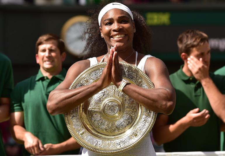 Tennis: Serena Williams vince per la sesta volta una finale di Wimbledon