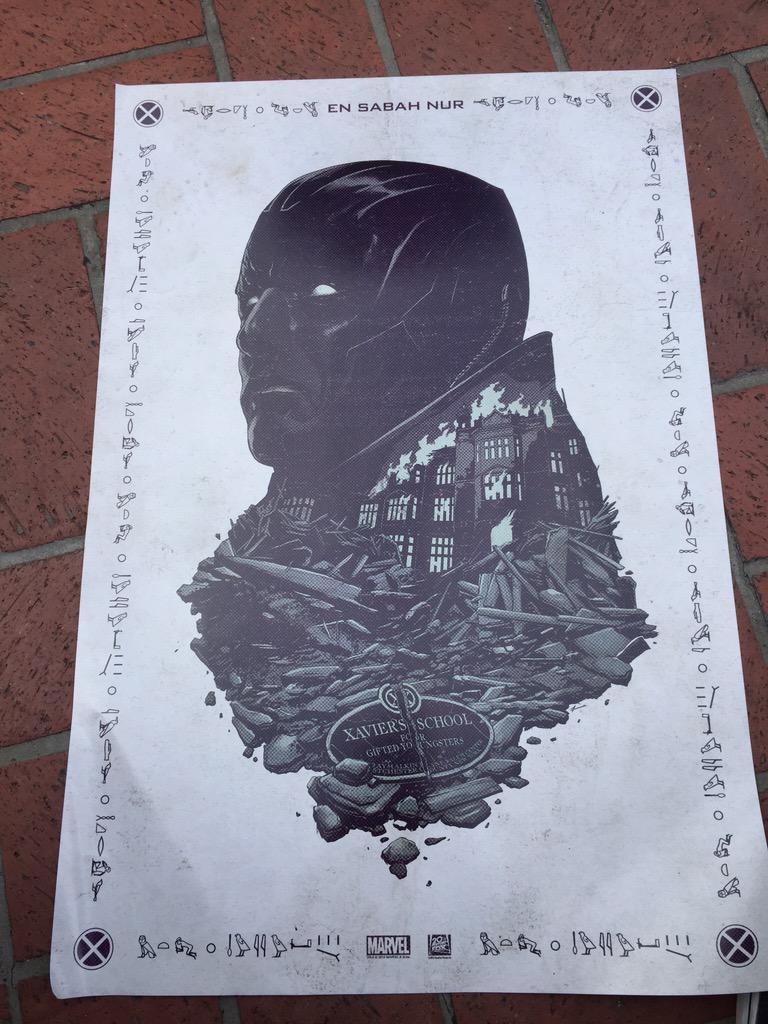 El primer teaser póster de X-Men: Apocalypse en la Comic-Con