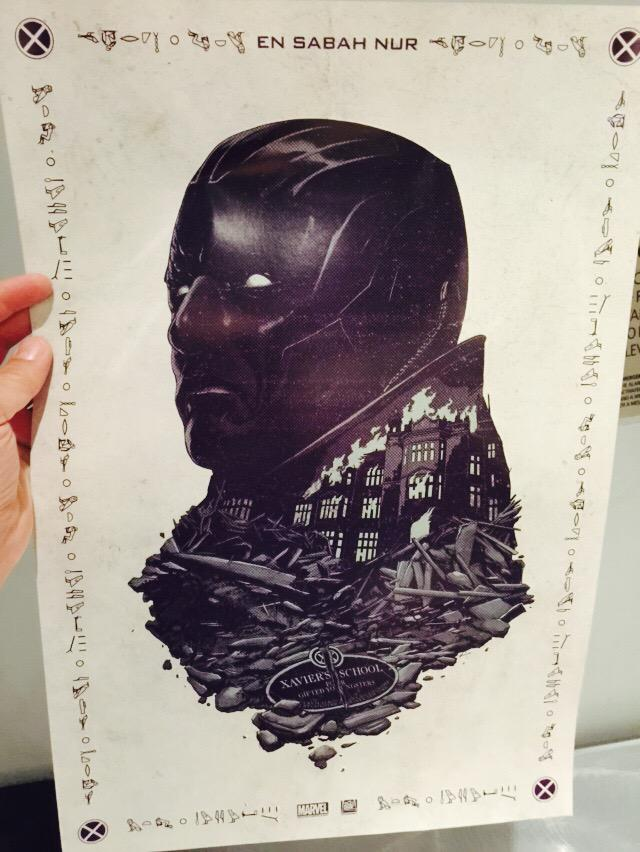First look at the title character in #XMenApocalypse #SDCC poster http://t.co/viH8yPHBnL