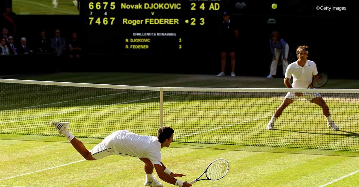 Diretta Tennis: finale Wimbledon Federer-Djokovic, info streaming