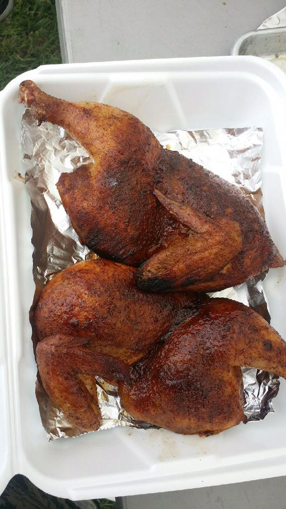 Warpig Bbq On Twitter Chicken Box Turn In 1 Ibca Fire Helping
