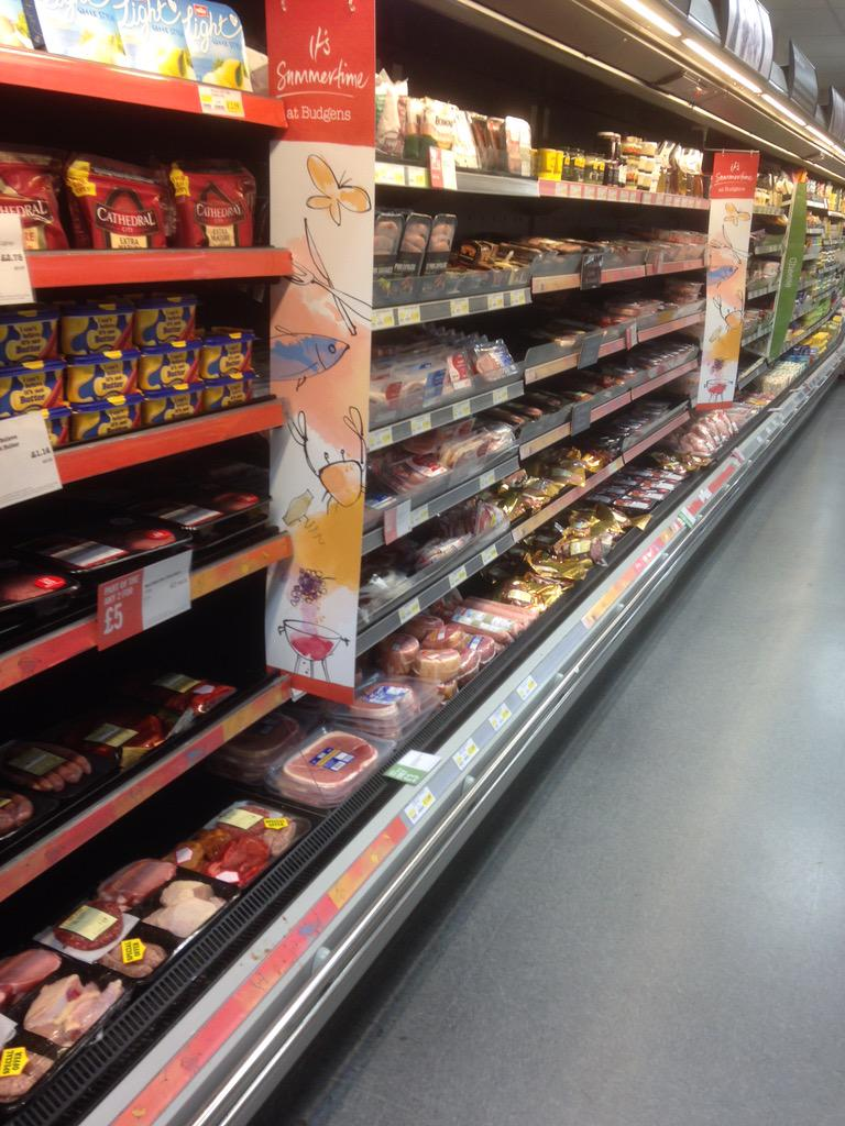 """Dersingham Budgens on Twitter: """"Our store is ready for a ..."""