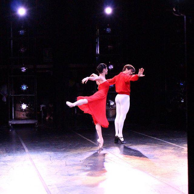 The one & only #PalomaHerrera rehearsing Nuestros Valses w/ Juan Pablo Ledo! #BalletNow http://t.co/mzZ6GVYk0v http://t.co/ikQDLGTeYc