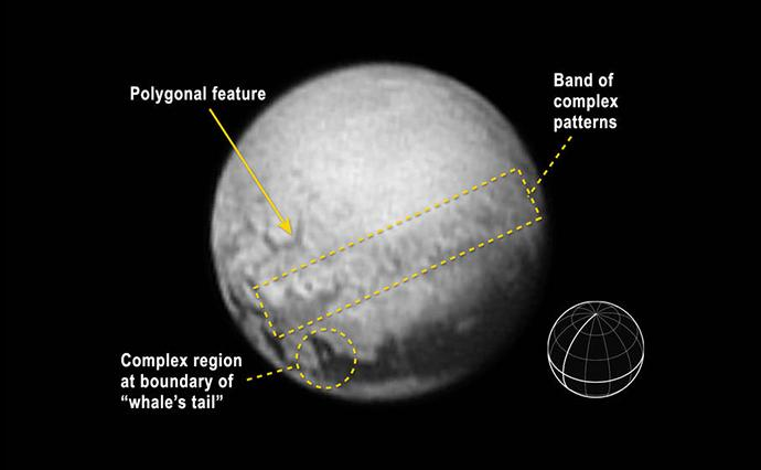 Charon Nasa Images Reveal Pluto Surface Features Capture