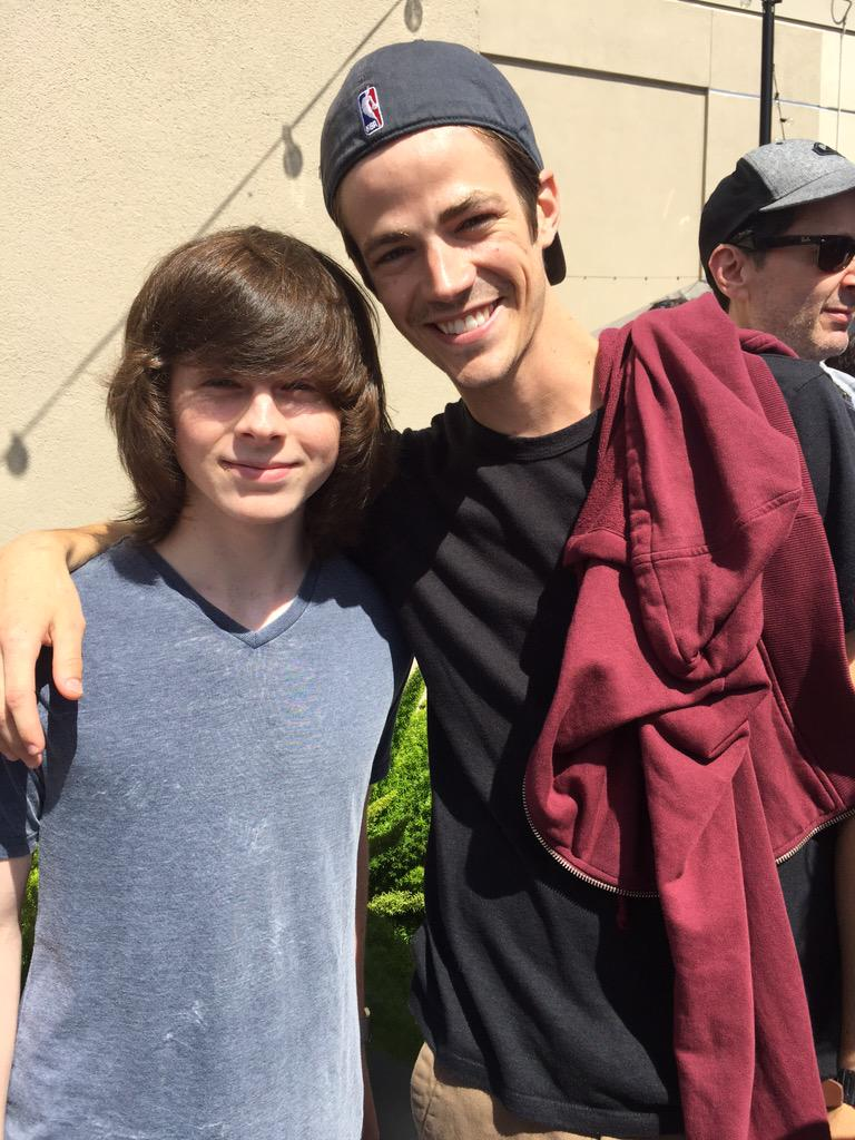 Chandler riggs on twitter great to meet grant he is amazing as never miss a moment m4hsunfo
