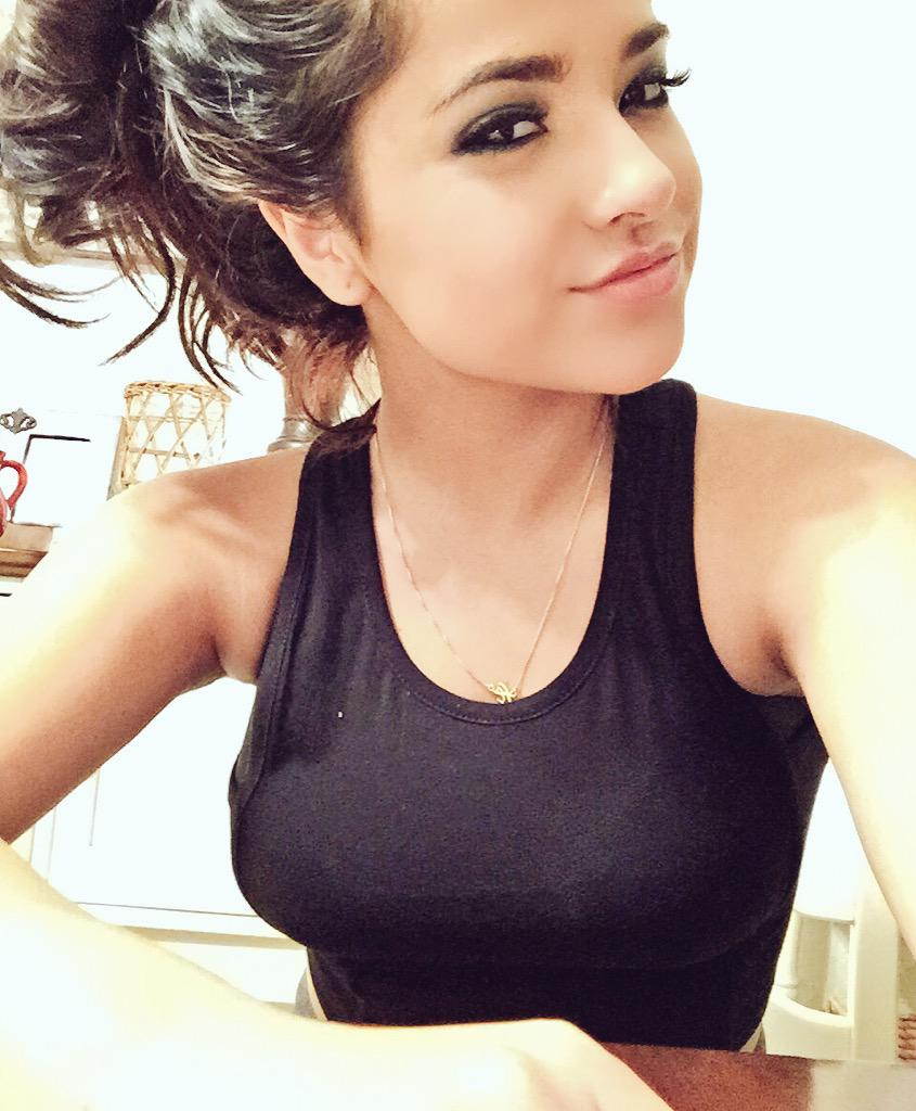 Instagram Is a cute Becky G naked photo 2017