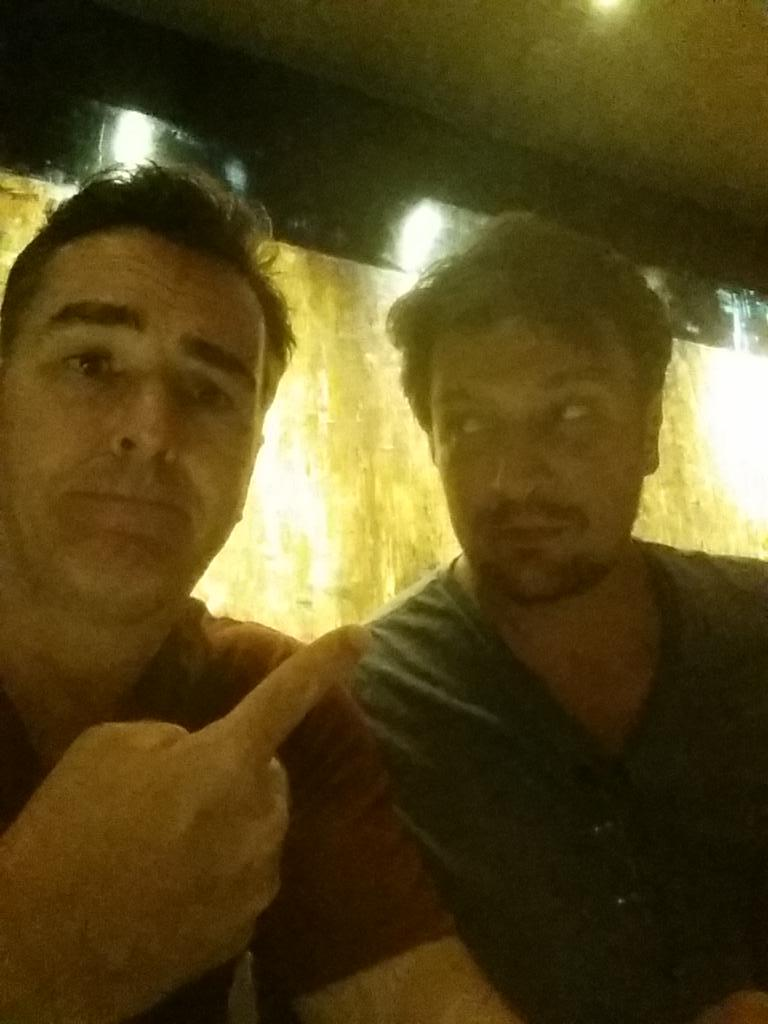 After finally working with and hanging out with this guy...he is my personal choice for Drake!  #fillionfordrakemovie http://t.co/tsooyPkaf1