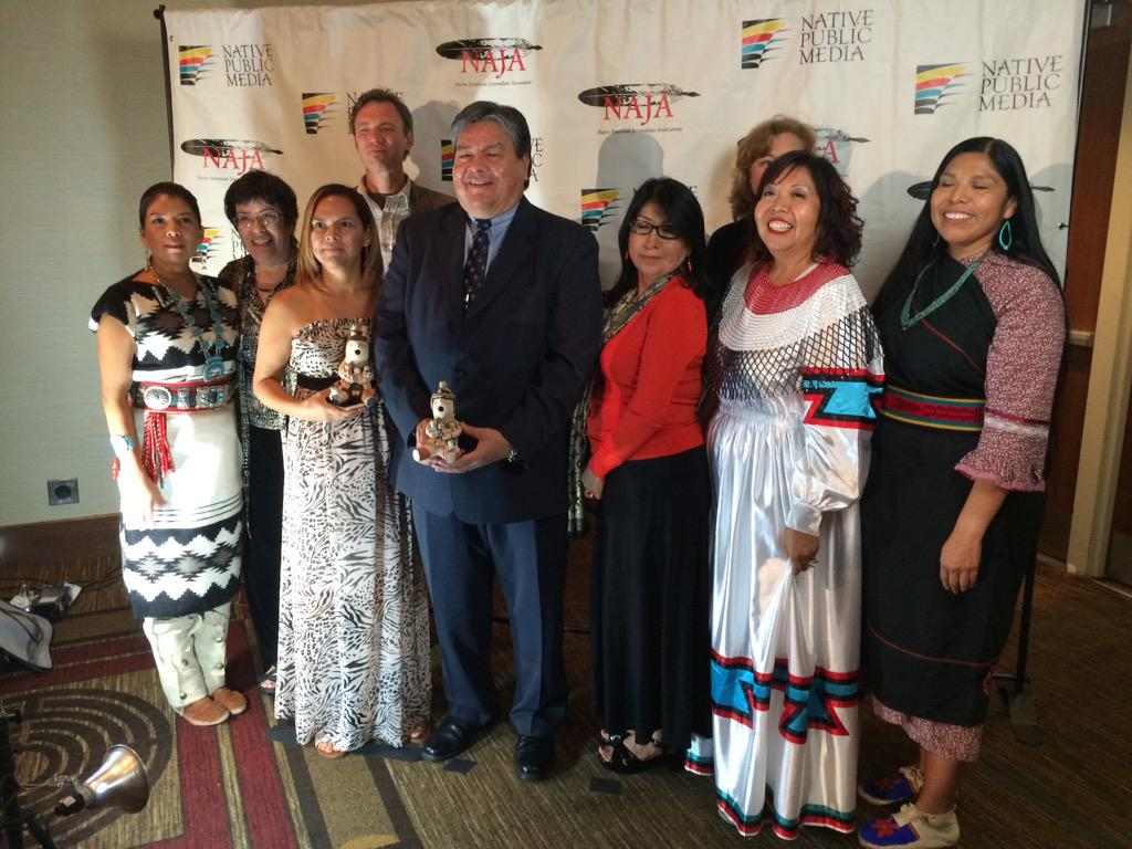 @NativePublicMed honoring #NativeMedia #naja31 #empoweryourstory @najournalists http://t.co/paDuxjms7f