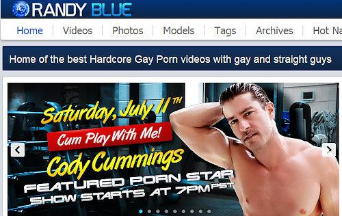 Randy blue cody