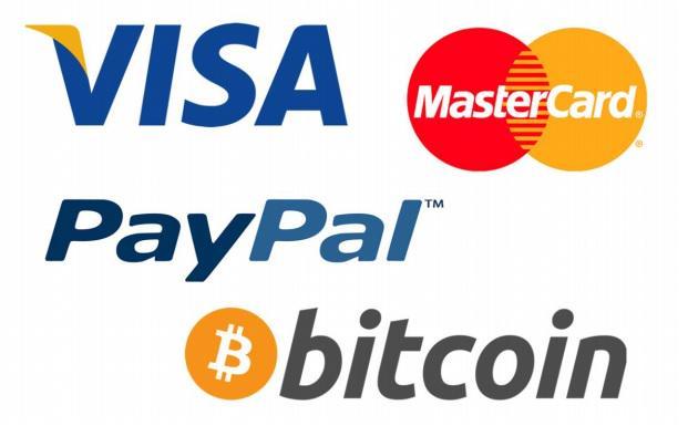 logo visa mastercard paypal